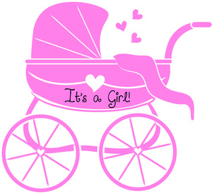 Animated Baby Girl Clip Art |