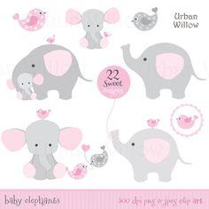 40 Baby Shower Elephant Clip Art Clipartlook