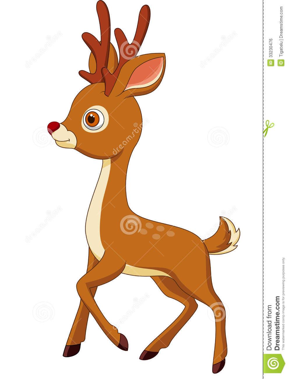 Baby Girl Deer Clipart Cute Deer Cartoon
