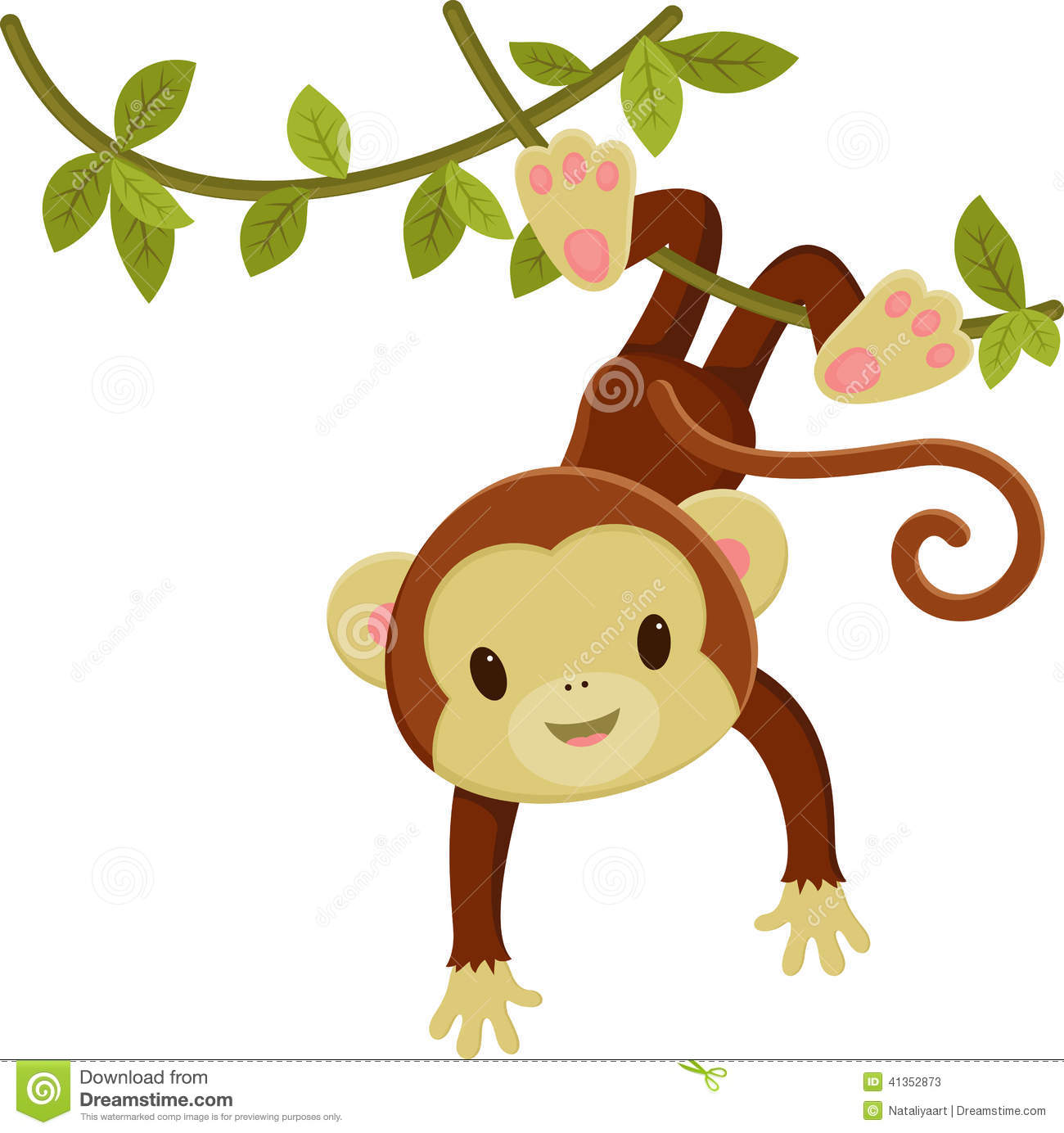 Baby Girl Monkey Clip Art Set ... 9ff123c1f2bab70e71fe36ca32154c .