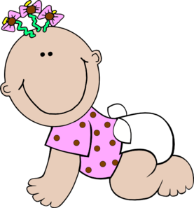 Baby Girl Polka Dot Clip Art At Clker Co-Baby Girl Polka Dot Clip Art At Clker Com Vector Clip Art Online-8