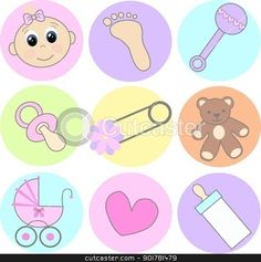 Baby Girl Shower Free Clip Ar - Free Baby Clipart Images