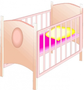 Baby In Crib Clipart Clipart