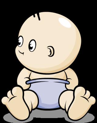Baby In Diaper Clipart Clipart-Baby in diaper clipart clipart-6