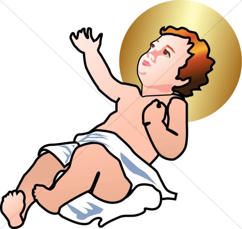 Baby Jesus Clipart Baby Jesus - Jesus Clip