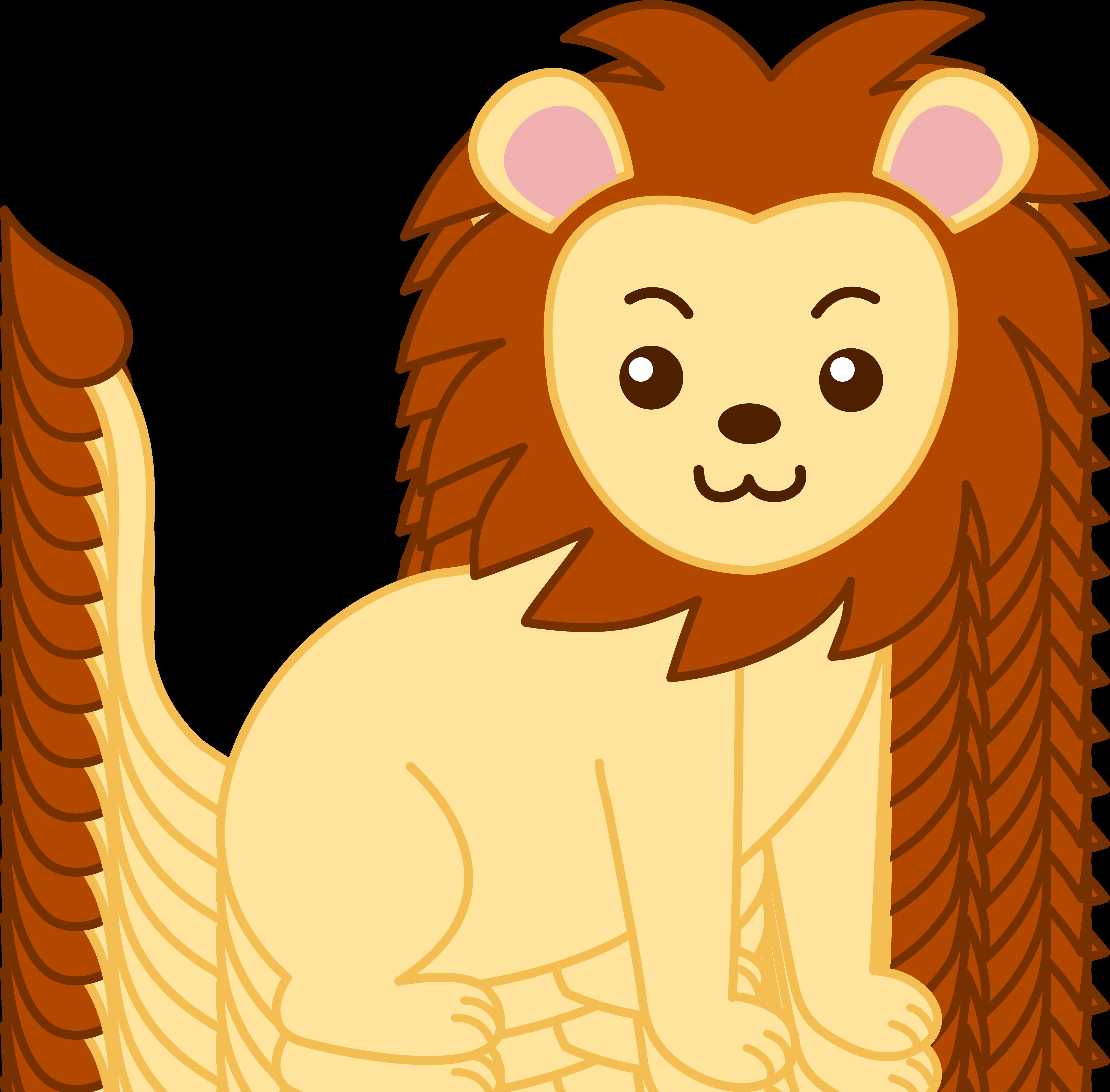 Baby Jungle Animal Clip Art-Baby Jungle Animal Clip Art-5