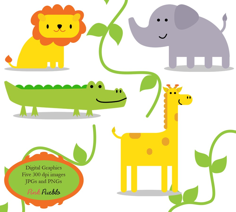 Baby Jungle Animals Clipart | Clipart li-Baby Jungle Animals Clipart | Clipart library - Free Clipart Images-19