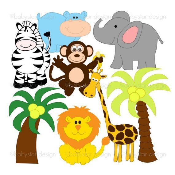 Baby Jungle Animals Clipart Free Clipart-Baby Jungle Animals Clipart Free Clipart Images-17