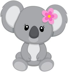 Baby koala bear clipart outline - ClipartFest