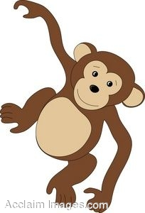 Baby Monkey Clip Art Black And White Cli-Baby Monkey Clip Art Black And White Clipart Panda Free Clipart-7