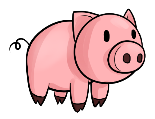 Baby Pig Clipart Free Clipart Images-Baby Pig Clipart Free Clipart Images-1