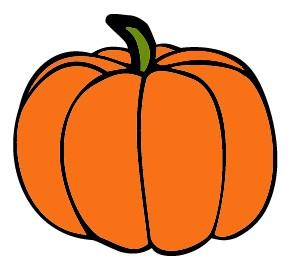 Halloween Pumpkin Clipart Bla