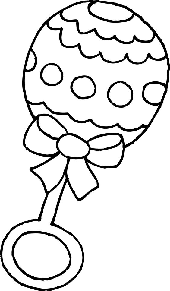 Baby Rattle Clip Art Black And White-Baby Rattle Clip Art Black and White-18