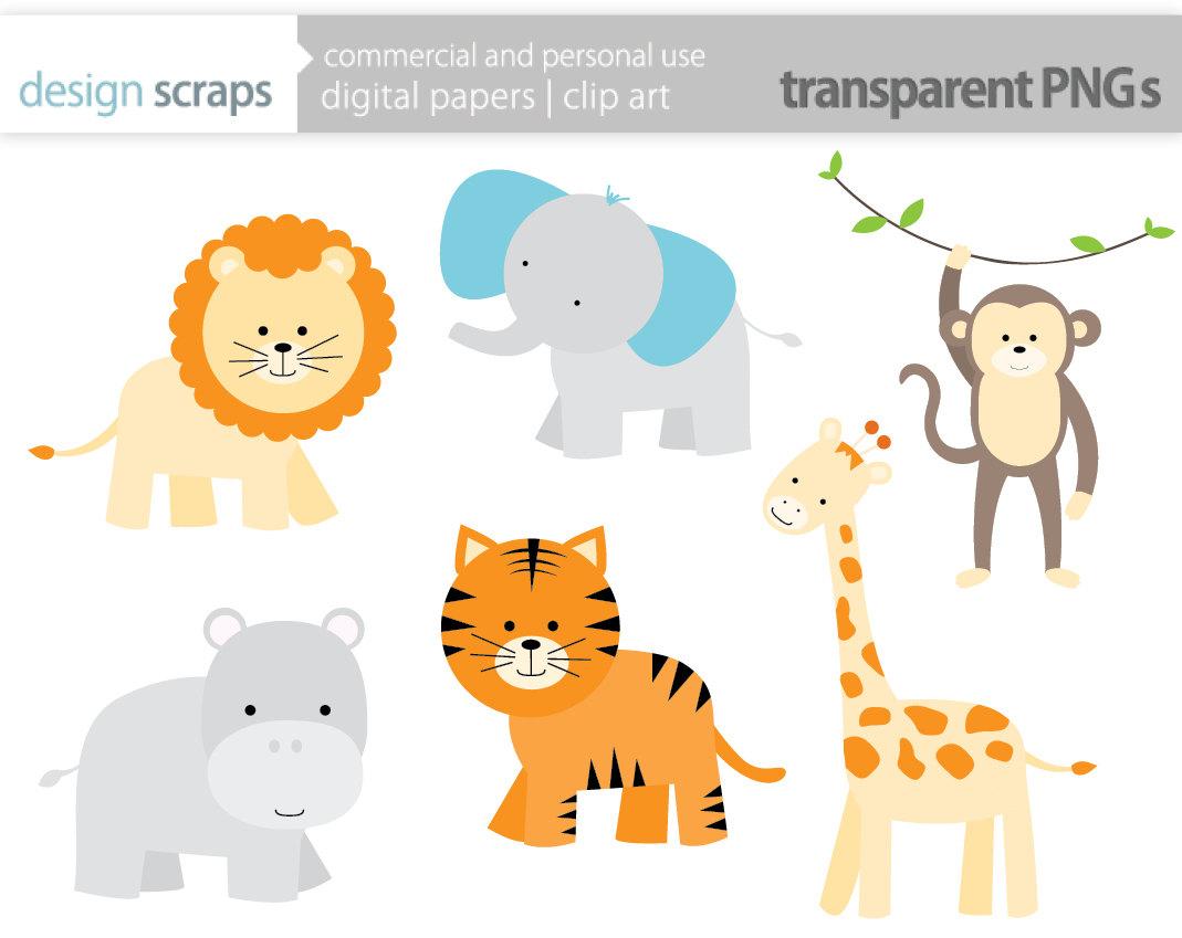 80 Safari Animals Clip Art Clipartlook