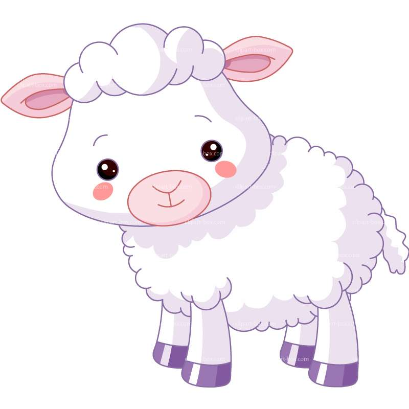 Baby Sheep Clip Art-Baby Sheep Clip Art-8