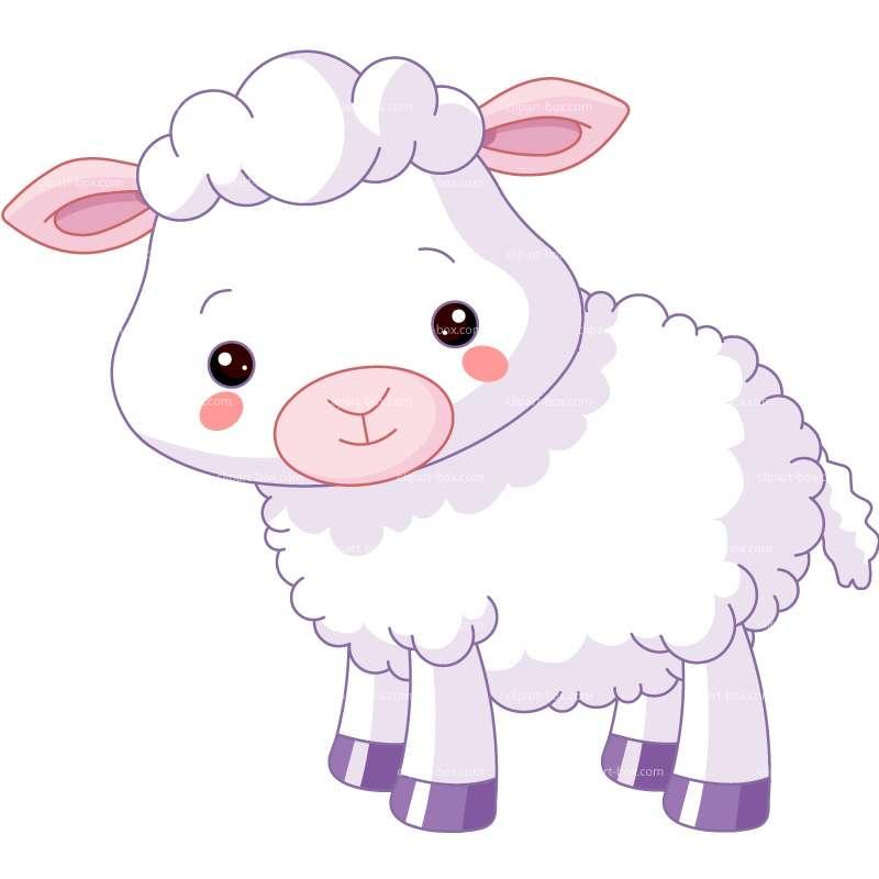 Baby Sheep Clip Art-Baby Sheep Clip Art-1