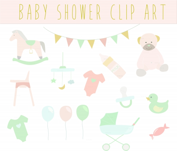 Baby Shower Clipart. 15 Images-Baby Shower Clipart. 15 images-5