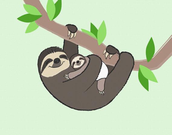 Sloth Clip Art