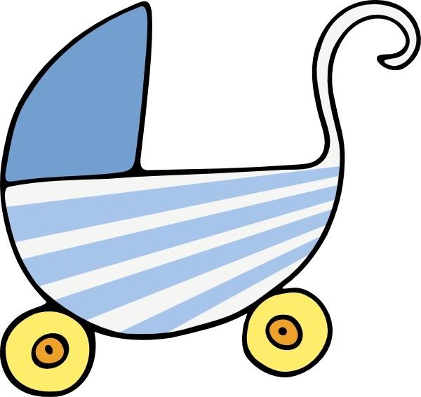 Baby Stroller Clip Art-Baby Stroller clip art-4