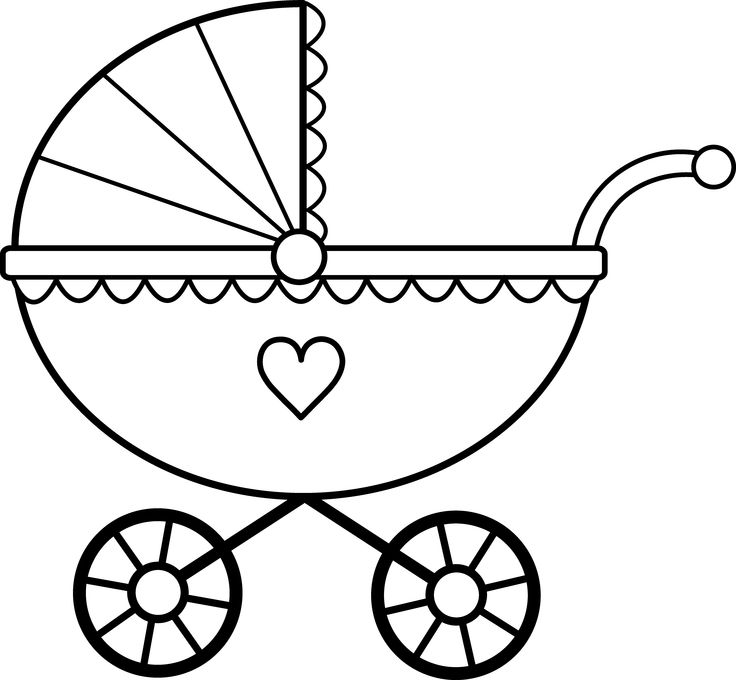 Baby Stroller Clip Art Free. Scal Baby Stroller Buggy Scal .