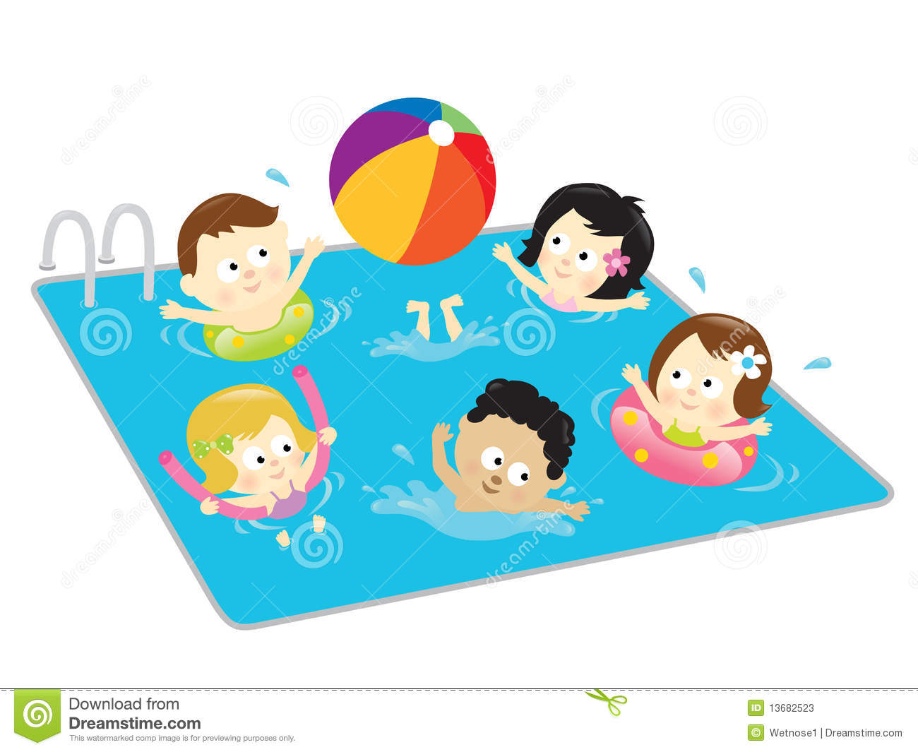 Baby Swimming Pool Clipart #1-Baby Swimming Pool Clipart #1-1