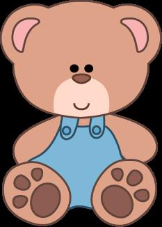 Baby Teddy Bear Clipart Cutecolors Clipa-Baby Teddy Bear Clipart Cutecolors Clipart Bear2 Png-1
