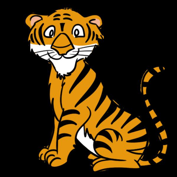 Baby Tiger Clip Art-Baby Tiger Clip Art-17