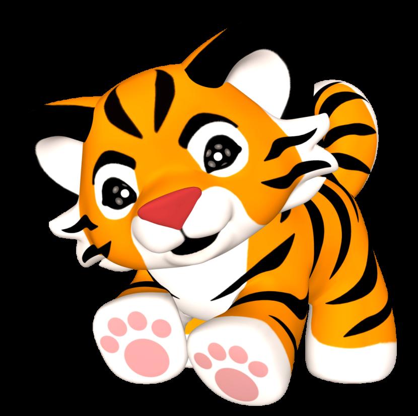 Baby Tiger clipart png-Baby Tiger clipart png-9
