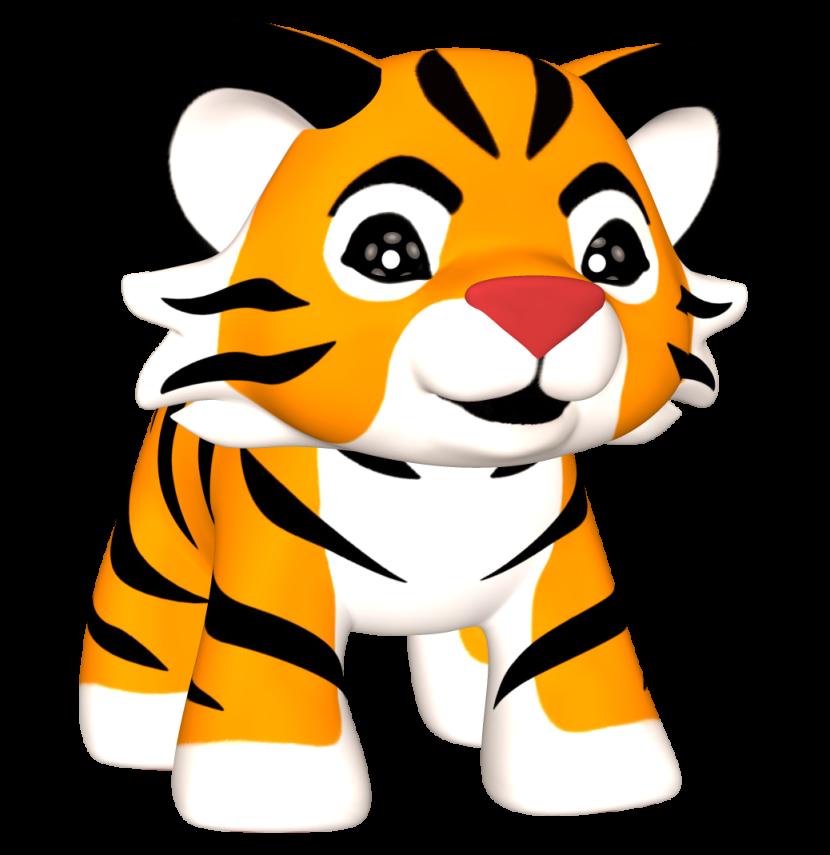 Baby Tiger clipart png-Baby Tiger clipart png-15