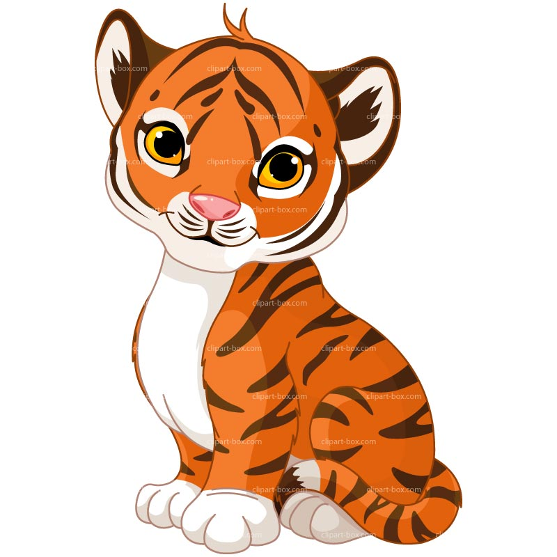 Baby Tiger Face Clip Art Clipart Panda Free Clipart Images