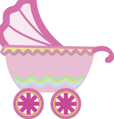 Baby Usage To Insert Pink Baby Stroller Clip Art On To Your Photo Just