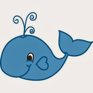 Baby Whale Clip Art Blue Whale Clip Art Polka Dot Clip Art