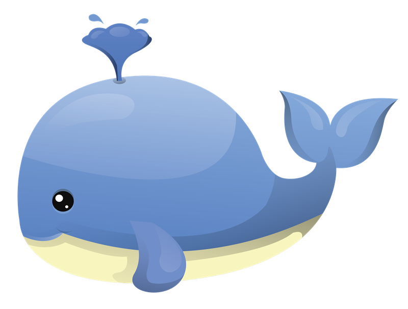 Baby Whale Clipart 2-Baby whale clipart 2-3