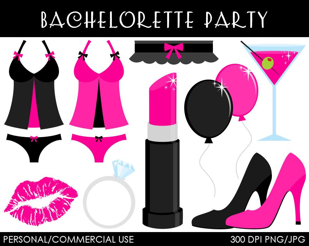 Bachelorette Party Clipart Digital Clip Art By Mareetruelove