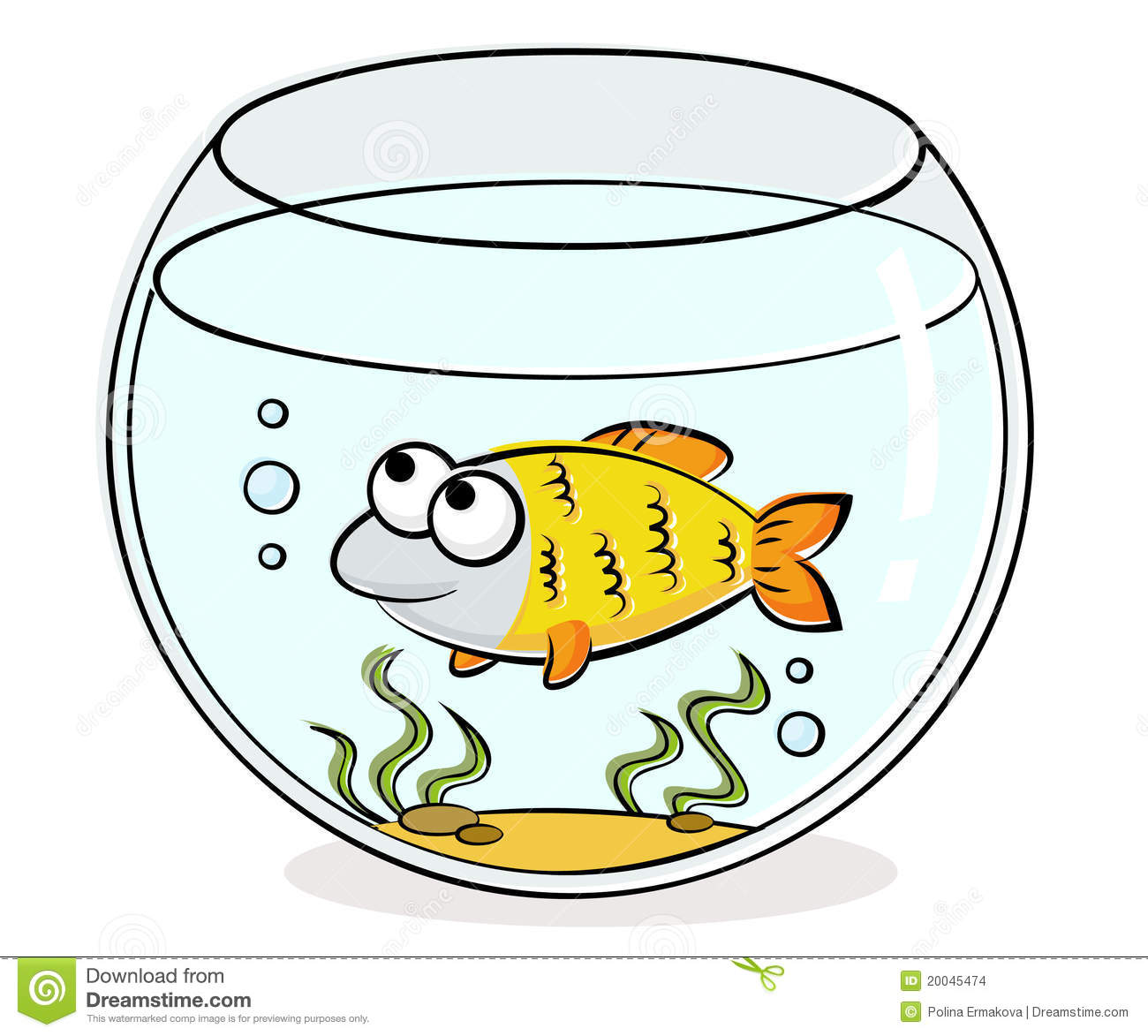 Rectangle Fish Tank Clipart