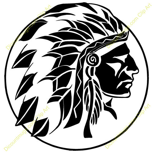 Back Gallery For Indian Chief Clip Art