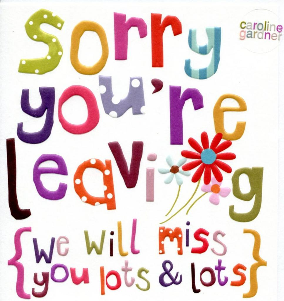 Back Gallery For Miss You Co  - We Will Miss You Clip Art