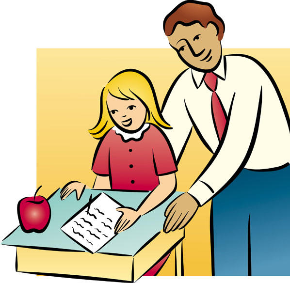 Teacher And Students Clipart