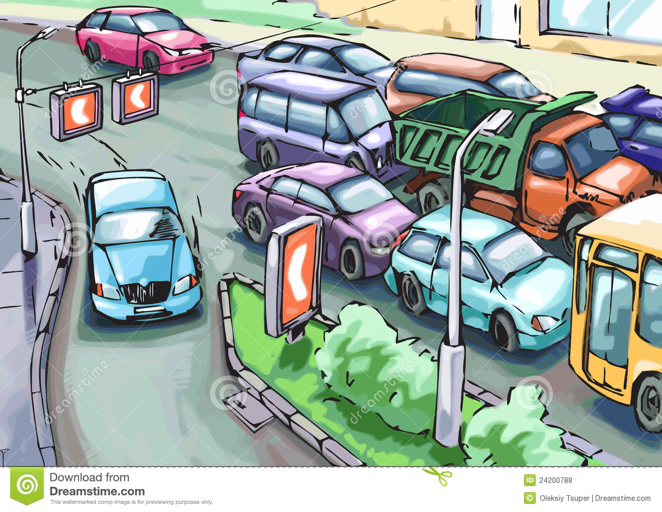 Back Gallery For Traffic Jam Clip Art Fr-Back Gallery For Traffic Jam Clip Art Free-0