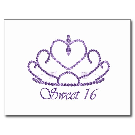 Back Gallery For Tumblr Sweet Sixteen Clip Art