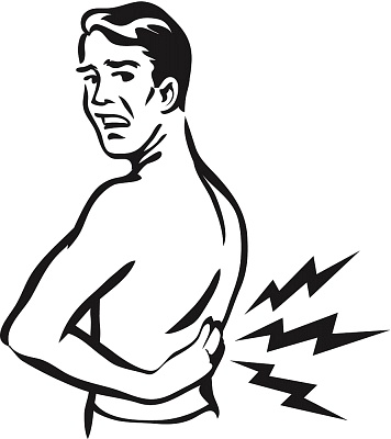 Back Pain Clipart