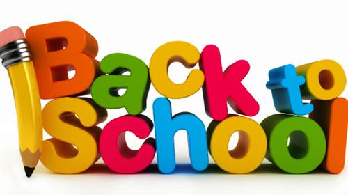Back To School 3d Clipart Picture
