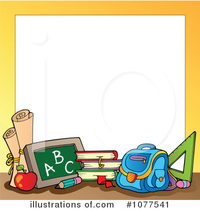 Back To School Border Clipart Royalty Fr-Back To School Border Clipart Royalty Free Rf Back To School-1