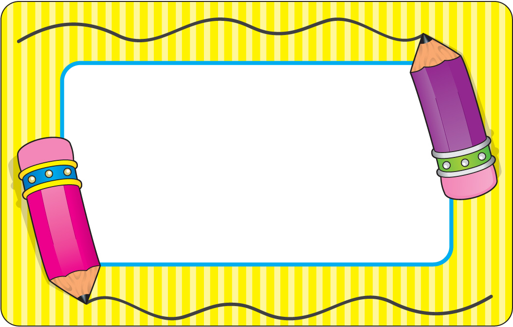Back To School Border Clipart-Back to school border clipart-1