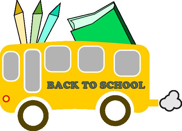 Back To School Clip Art At Clker Com Vector Clip Art Online Royalty