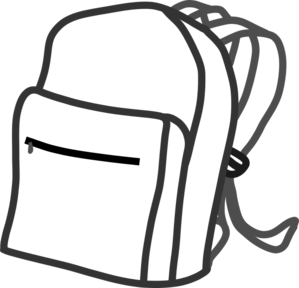Backpack Clip Art At Clker Com Vector Clip Art Online Royalty Free
