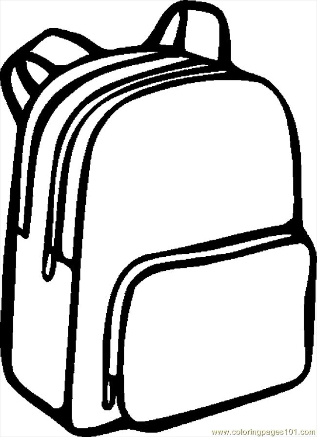 Backpack clipart 3 image