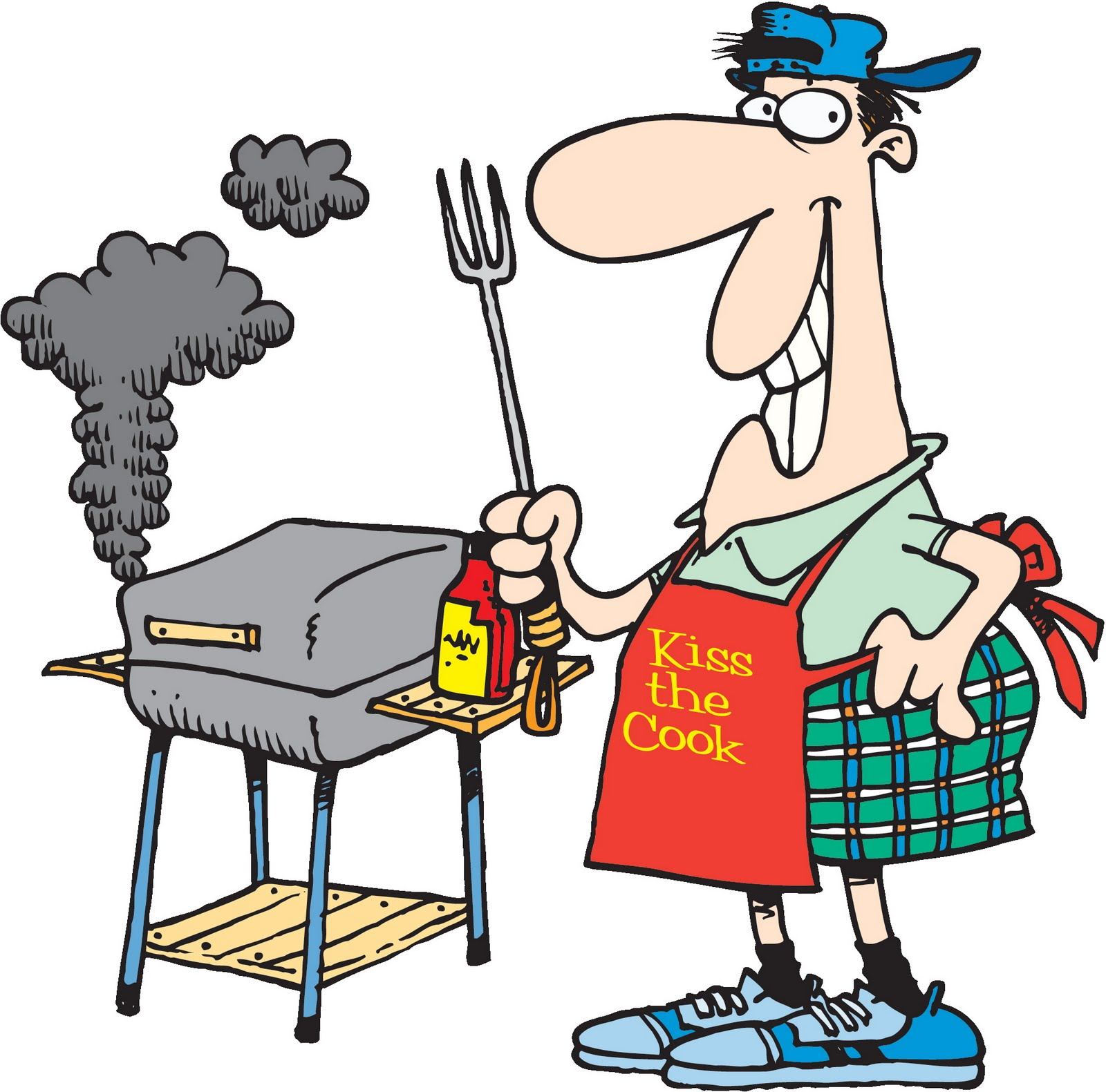 backyard bbq party clipart