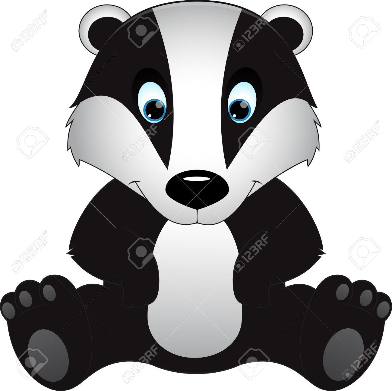 Badger Clipart -badger clipart -0