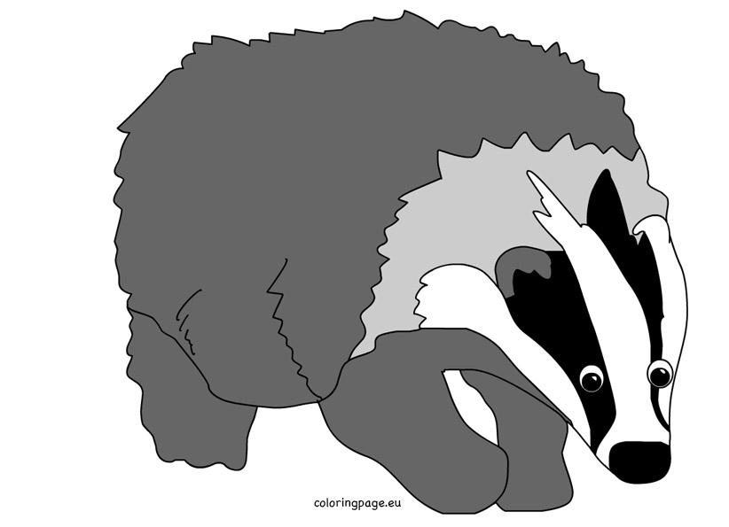 Badger Clip Art #22-badger clip art #22-5